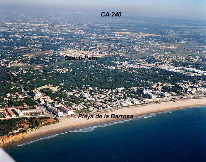 El Tiempo en Playa de La Barrosa - Chiclana de la Frontera - Cádiz (Andalucía)