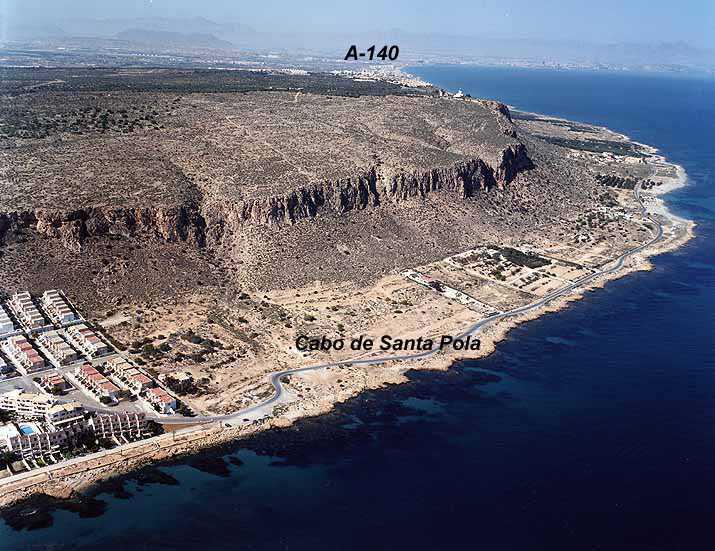 El tiempo en playa de mare de deu santa pola alicante comunidad valenciana - Cabo santa pola ...
