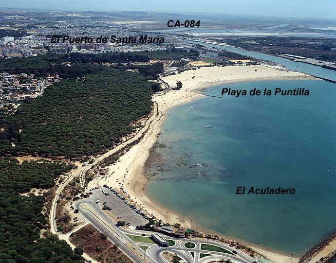 El tiempo en playa de la puntilla el puerto de santa mar a c diz andaluc a - Que visitar en el puerto de santa maria cadiz ...