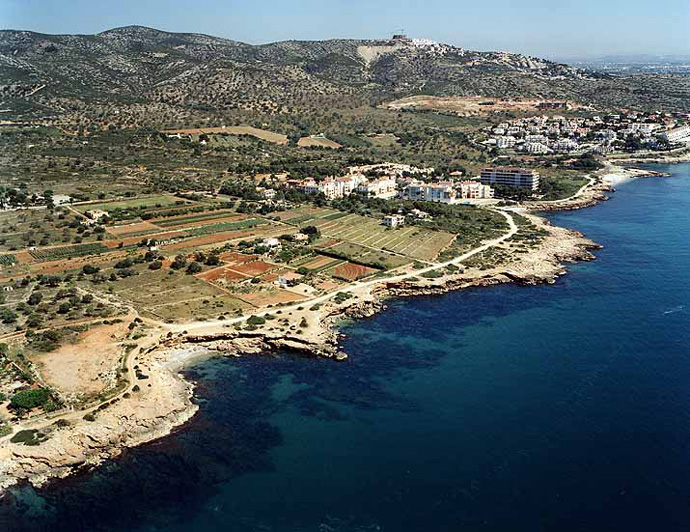 El tiempo en cala l 39 arjub playa en pen scola pe scola - El tiempo torreblanca castellon ...