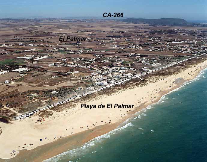 El Tiempo en Playa de El Palmar - Vejer de la Frontera - Cádiz (Andalucía)