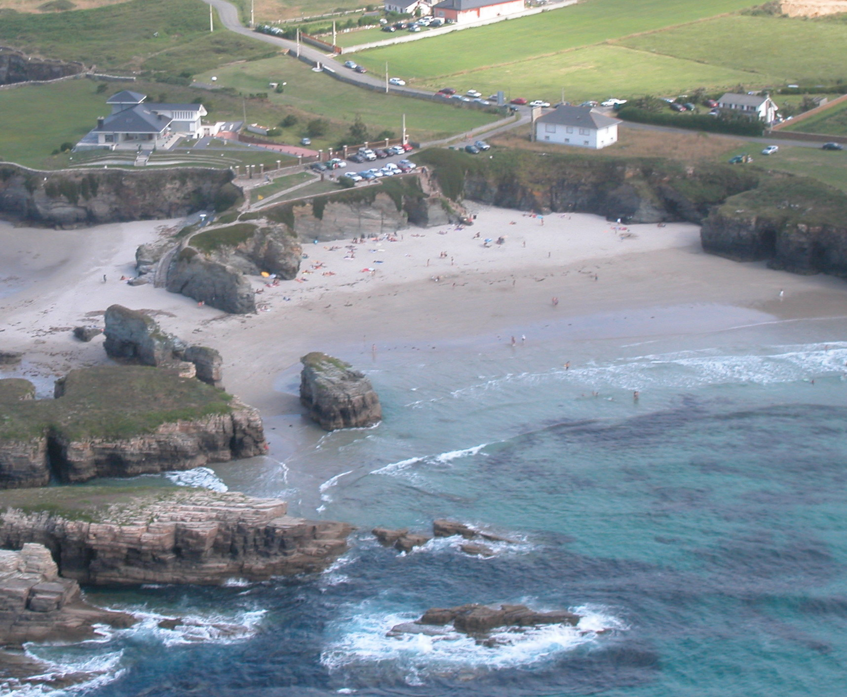 El tiempo en playa de as illas ribadeo lugo galicia - El tiempo en parga lugo ...