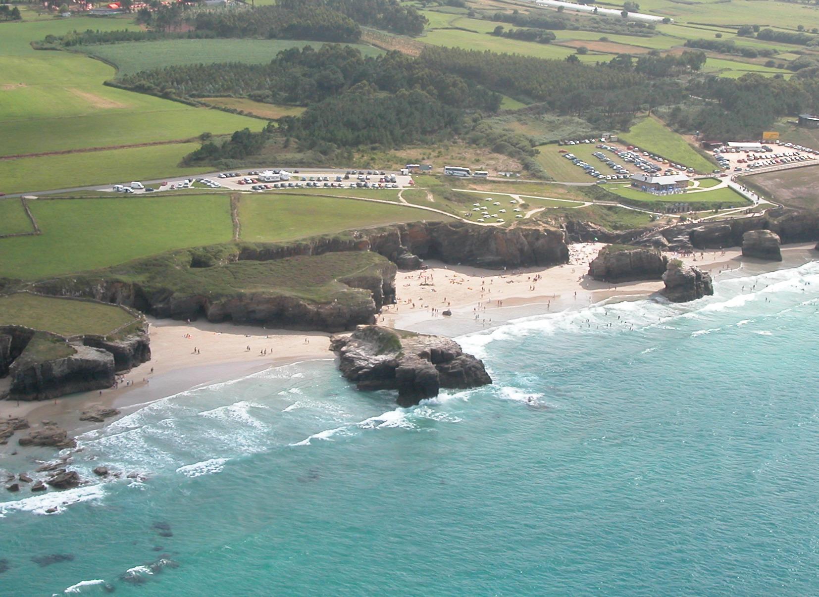 El tiempo en playa de as catedrais ribadeo lugo galicia - El tiempo en parga lugo ...