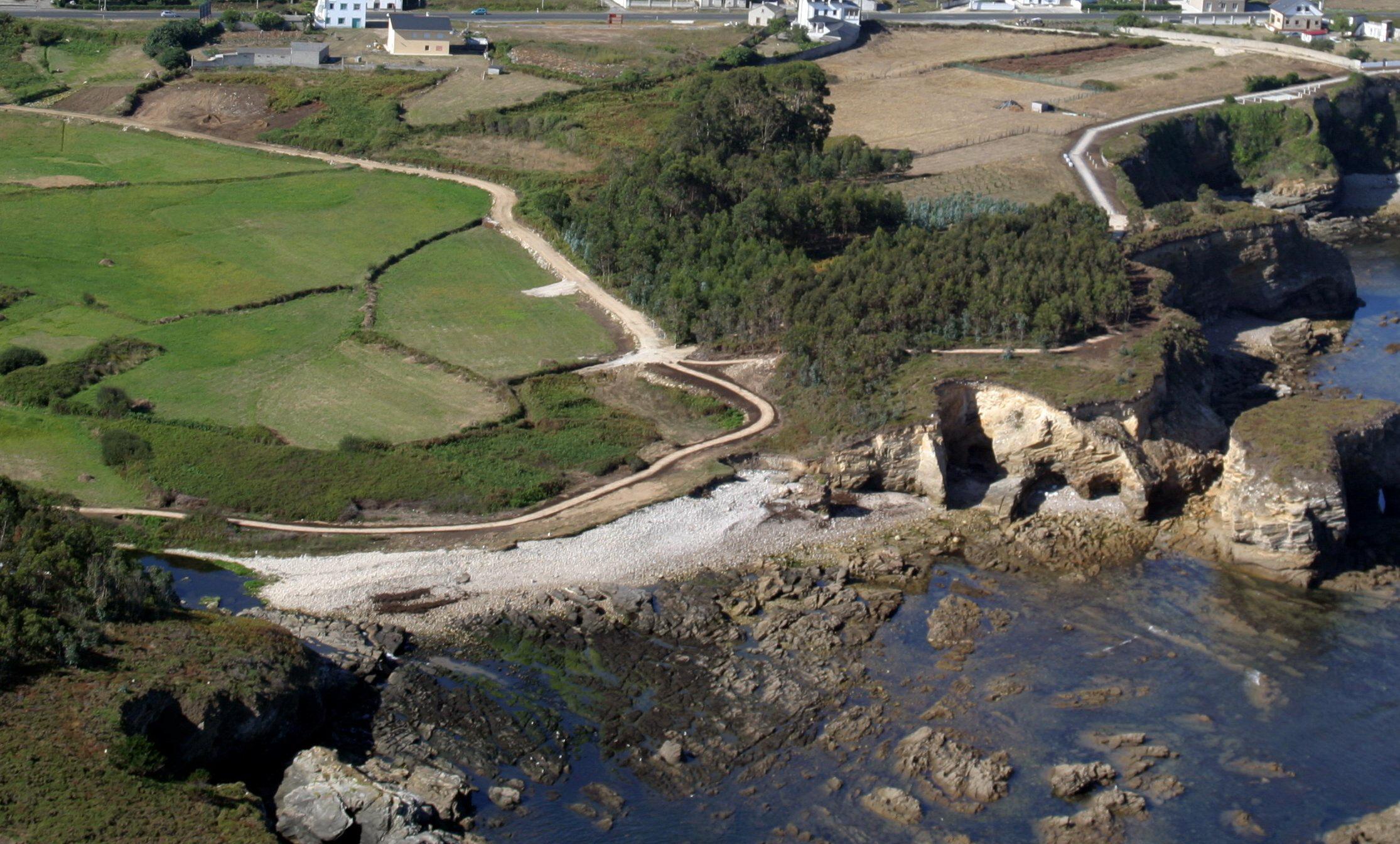 El tiempo en playa de gralleira foz lugo galicia - El tiempo en parga lugo ...