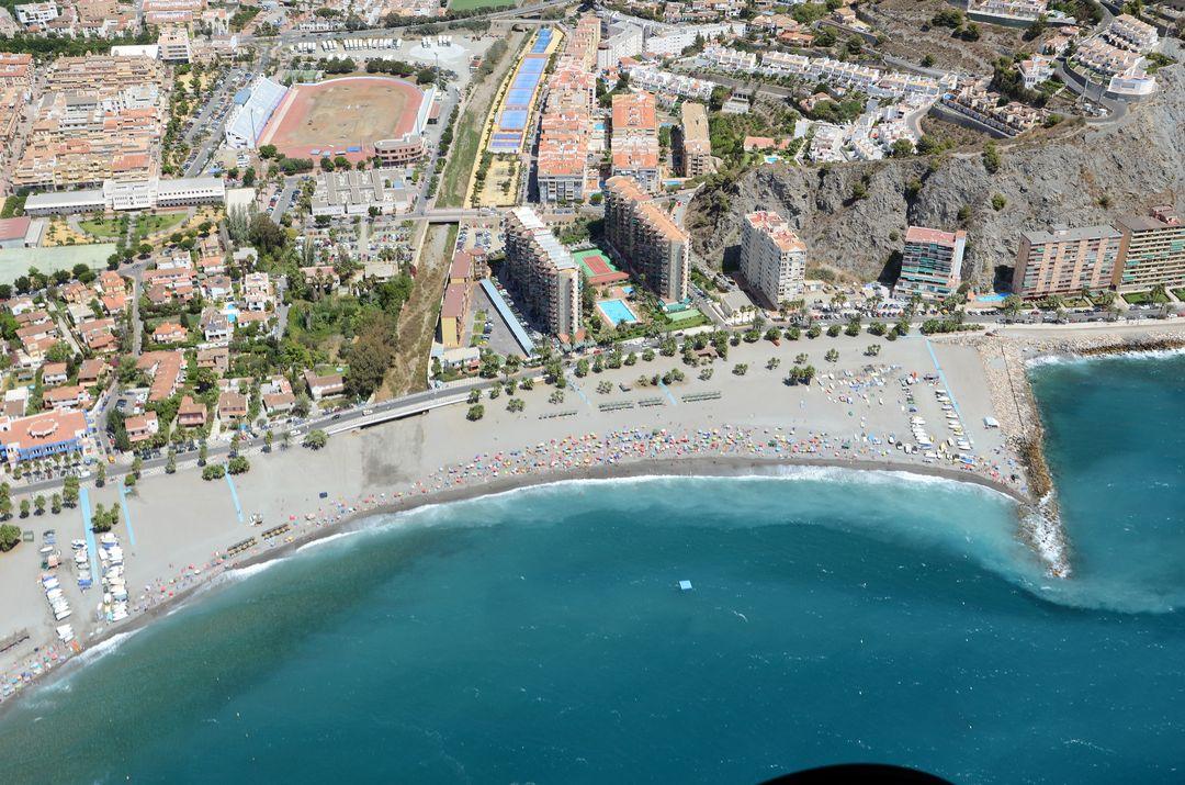 El tiempo en playa de puerta del mar almu car granada for Puerta 6 del autodromo