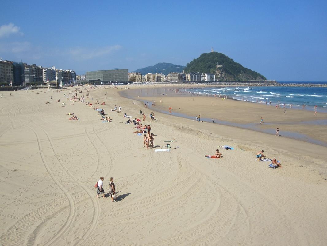 El tiempo en playa de la zurriola donostia san sebasti n - El tiempo para manana en san sebastian guipuzcoa ...