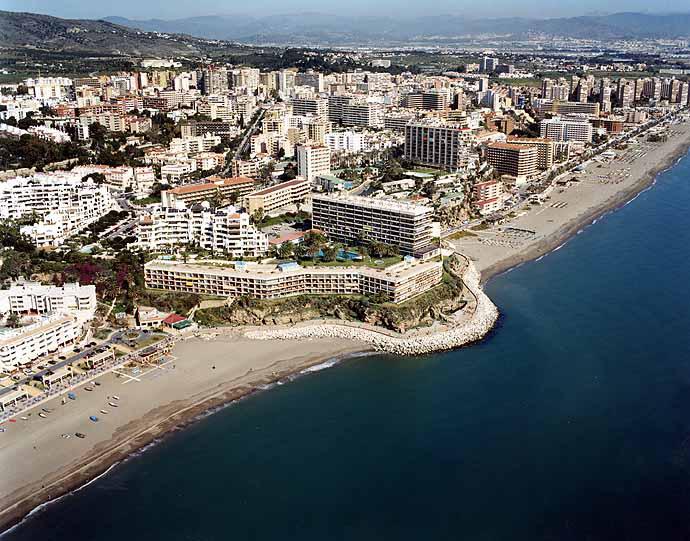 Torremolinos Spain  city images : ... Tiempo en Playa de La Carihuela en Torremolinos Málaga Andalucía