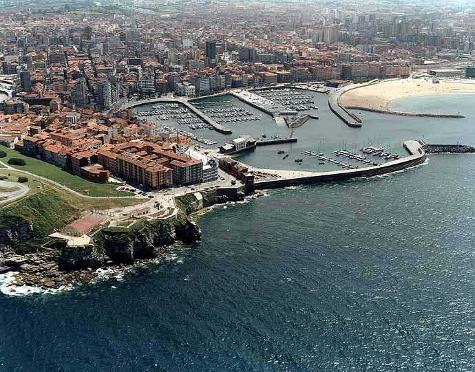 El tiempo en playa de poniente gij n asturias - El tiempo gijon detallado ...