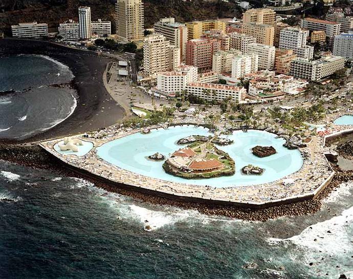 El tiempo en playa de martianez puerto de la cruz for Piscinas publicas en el sur de tenerife