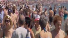 Previsión Playas agosto