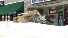 Nieve e inundaciones en NY