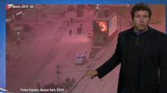 La nevada del fin del mundo en NY
