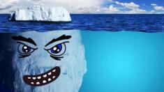 ¡Peligrosos Icebergs!
