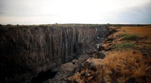 Las cataratas Victoria se secan dramáticamente