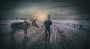 Laponia, el hogar de Papá Noel, peligra por el cambio climático