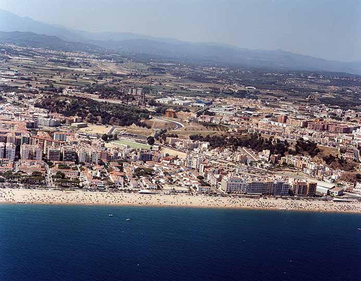 El Tiempo en Playa de S'Abanell - Blanes - Girona (Cataluña)